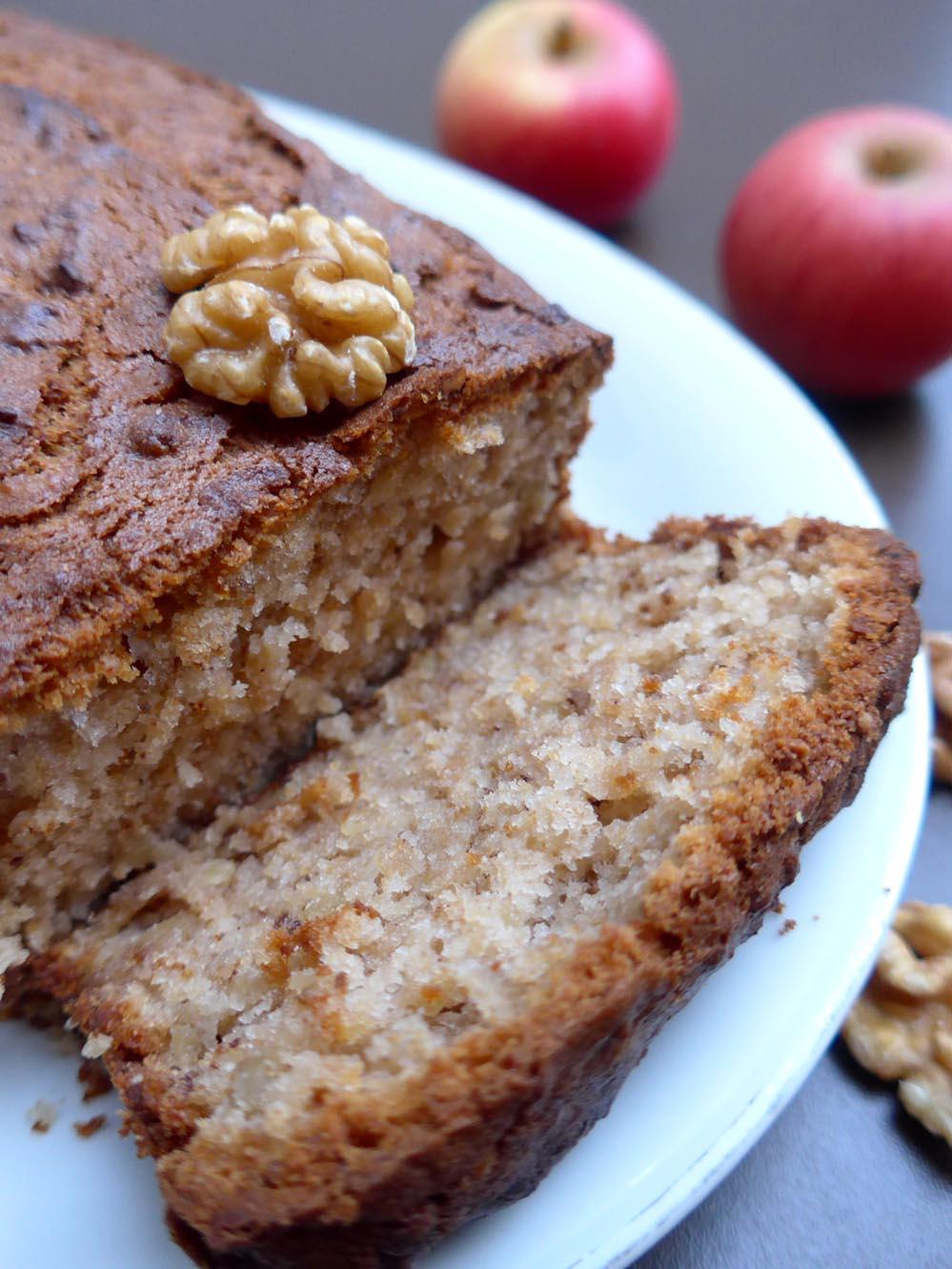 Apfel Walnuss Kuchen Genuss Ohne Gluten